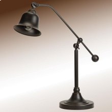 Transitional Bronze Lamp