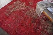 Karma Krm01 Red Rectangle Rug 7'10'' X 10'6''
