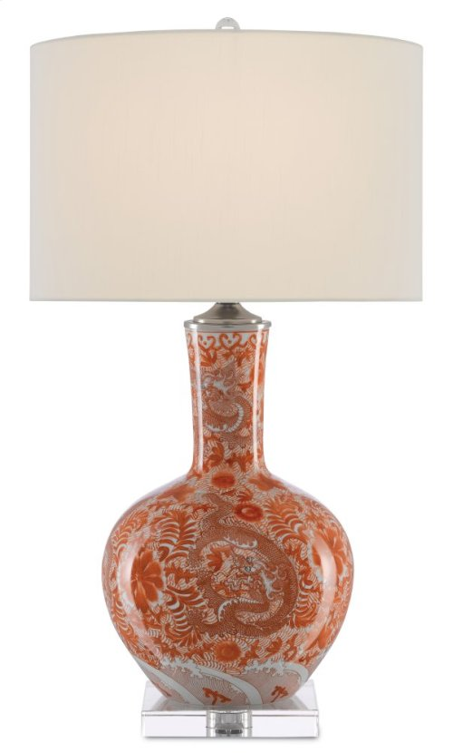 Sheng Red Table Lamp