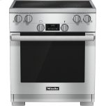 MieleHR 1421 208V 30 inch range Electric with DirectSelect controls and TwinPower convection fans