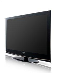 "50"" widescreen plasma HDTV w/720p resolution"