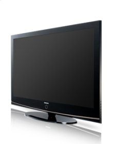 "50"" widescreen plasma HDTV w/720p resolution"