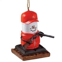 S'mores Hunter Ornament. Product Image