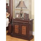 Grand Prado Cappuccino One-drawer Nightstand With Two Doors Product Image