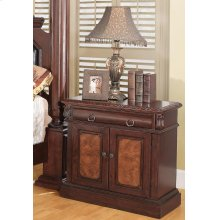 Grand Prado Cappuccino One-drawer Nightstand With Two Doors
