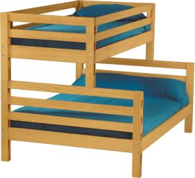Bunkbed, Twin over Queen, tall