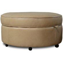 Leather Auden Storage Ottoman 35581AL