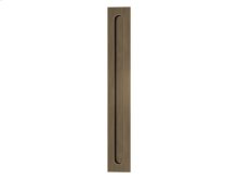 Slimline Flush Pull Solid In Fine Antique Brass