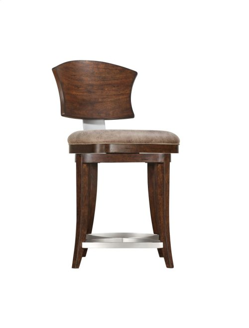 Emerald Home Oxford Hills Swivel Barstool 24 Inch D431-24