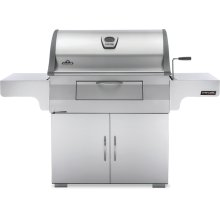 Charcoal Professional Charcoal Grill , Stainless Steel , Charcoal
