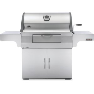 Napoleon BBQ  Charcoal Professional Cart Grill , Stainless Steel , Charcoal