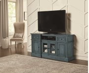 60 Inch Console - Aged Blue Finish Product Image