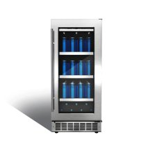 "Piedmont 15"" single zone beverage center."