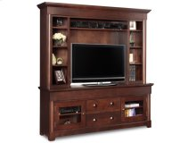 "Hudson Valley 74"" HDTV Cabinet With Hutch"