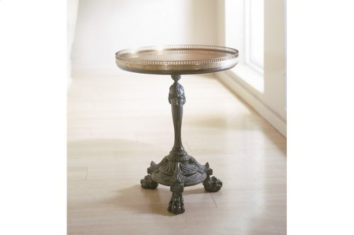 Delights of France Side Table - Bronze Finish