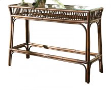 Bora Bora Console Table w/ Glass