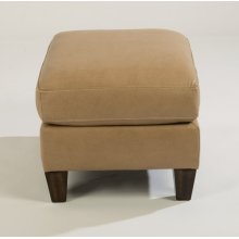 Mulberry Leather Ottoman