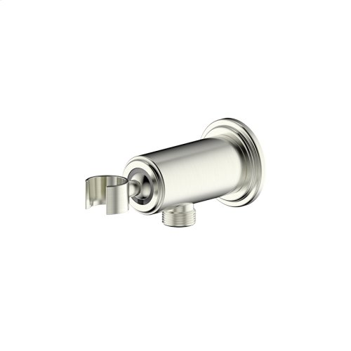 Hand Shower Wall Bracket With Outlet Darby Series 15 Satin Nickel