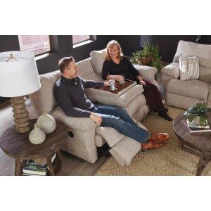 Power Lay Flat Reclining Sofa w/DDT