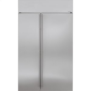 "MonogramMonogram 48"" Built-In Side-by-Side Refrigerator"