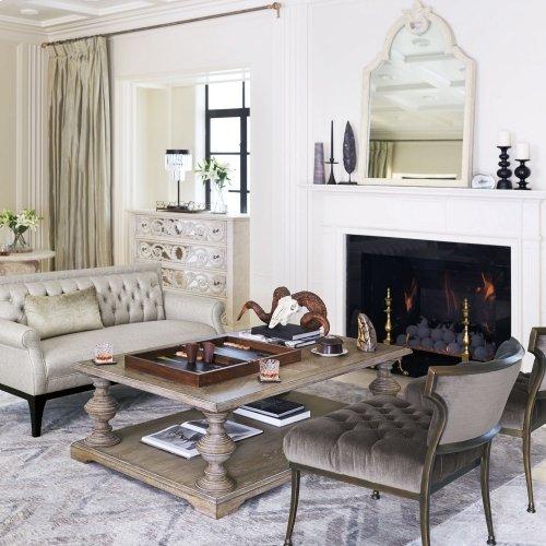 Campania Chairside Table