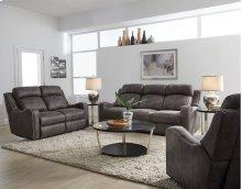 STANDARD 4148593 Bankston Grey Power Reclining Sofa