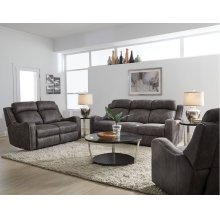 Grey Power Motion Loveseat