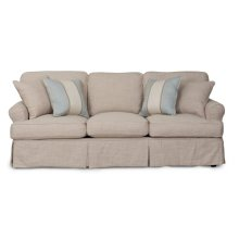 Sunset Trading Horizon Slipcovered Sofa - Color: 466082