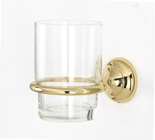 Royale Tumbler Holder A6670 - Polished Brass