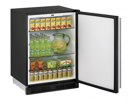 "1000 Series 24"" Solid Door Refrigerator With White Solid Finish and Field Reversible Door Swing (115 Volts / 60 Hz)"