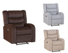 "Madeline Recliner, Brown 32""x32""x40"""
