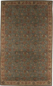 Hard To Find Sizes Grand Parterre Pt01 Blue Rectangle Rug 11'1'' X 12'1''