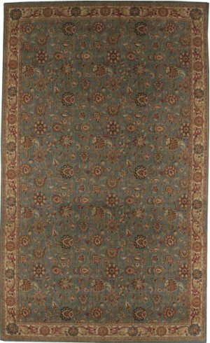 Hard To Find Sizes Grand Parterre Pt01 Blue Rectangle Rug 9' X 8'