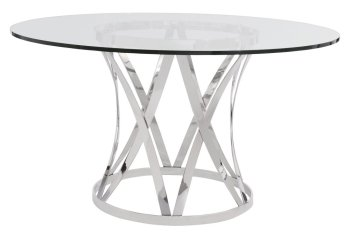 Gustav Metal Dining Table Product Image