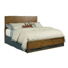 Traverse Ca King Live Edge Bed 6/6 Complete