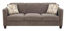 Focus - Sofa Charcoal W/2 Accent Pillows
