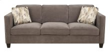 Focus - Sofa Charcoal W/2 Accent Pillows