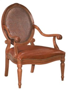 Carved Arm Chair
