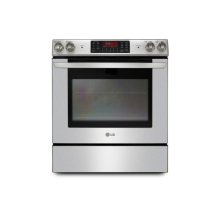 Slide-In Range with Large Capacity Oven and EvenJet Convection