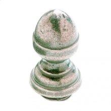 "Acorn Finial Cap 7/8"" Barrel Silicon Bronze Brushed"