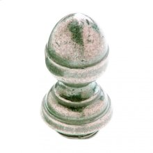 "Acorn Finial Cap 7/8"" Barrel Silicon Bronze Brushed"