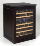 Credenza Style Wood Cabinetry Dual Zone Wine Chiller Product Image