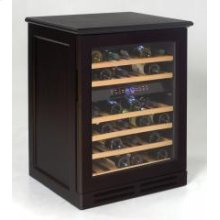 Credenza Style Wood Cabinetry Dual Zone Wine Chiller