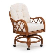 Swivel Tilt Caster Dining Chair 68660