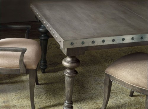 Vintage West Rectangle Dining Table w/2-18in Leaves