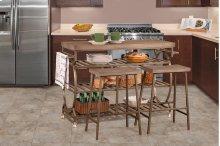 Paddock Three-piece Kitchen Cart Set