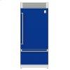 "Hestan 36"" Pro Style Bottom Mount, Top Compressor Refrigerator - Krp Series - Prince"