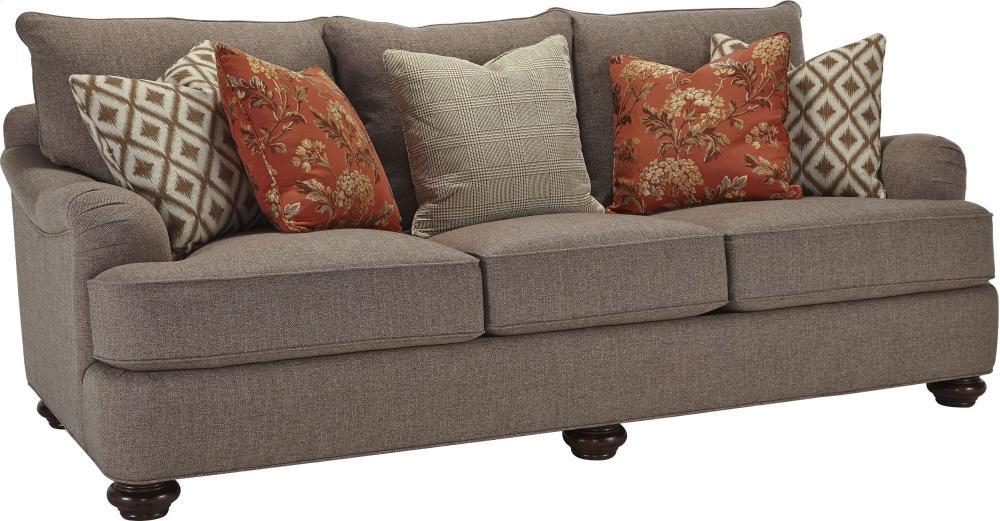 Portofino Large Sofa (English Arm, Bun Foot)