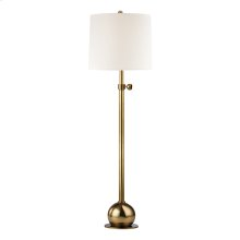Floor Lamp - Vintage Brass