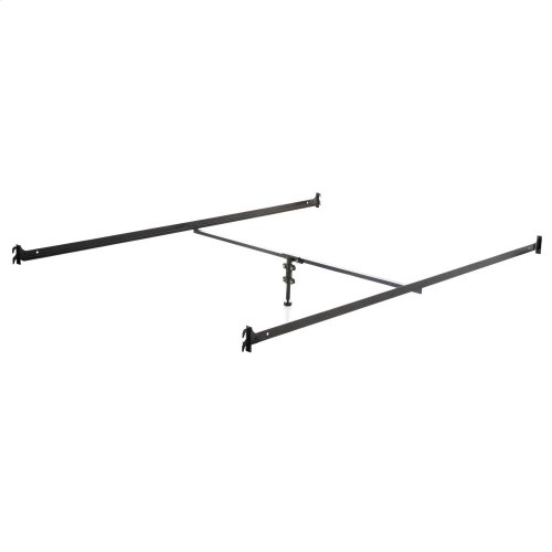 Hook-in Bed Rails with Center Bar - Queen